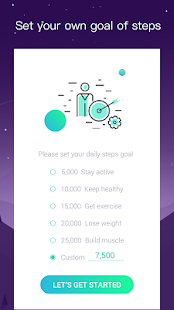 Steps - Personalized Pedometer, Steps Counter