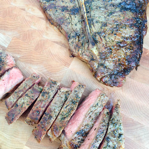 Herbes de Provence Rubbed Porterhouse Steaks