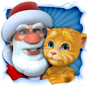 Talking Santa meets Ginger for Lollipop - Android 5.0