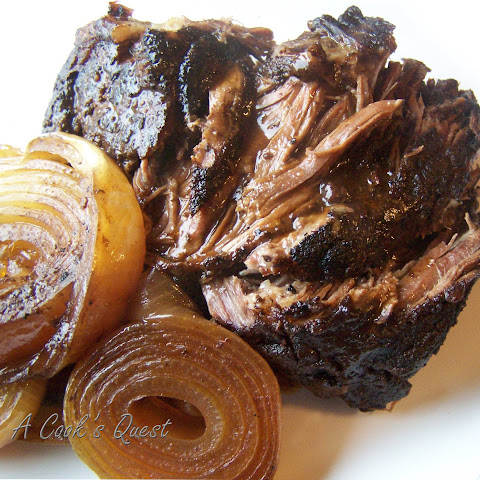Balsamic and Onion Pot Roast