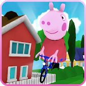 Game Cool pig run adventure APK for Kindle