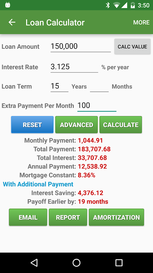 Financial Calculators Pro Screenshot 3