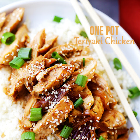 One Pot Easy Teriyaki Chicken