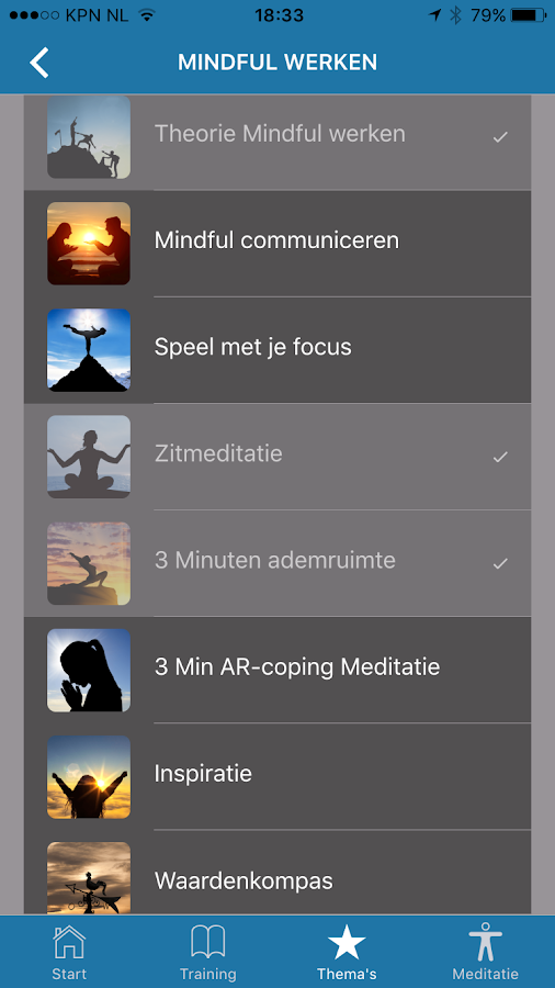 Mindfulness Mentor Screenshot 3