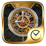 Luxurious GO Clock Themes Icon