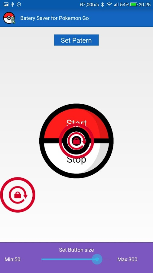 Battery Saver for Pokemon Go Screenshot 3