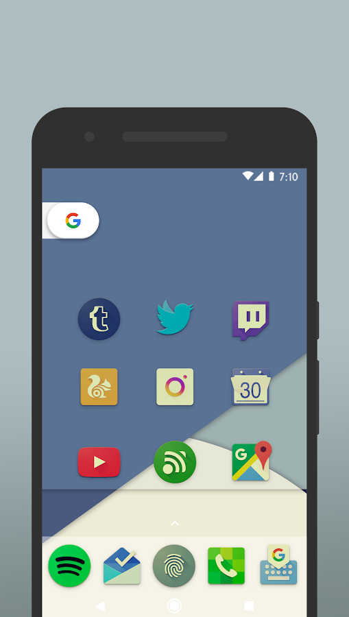 Nucleo Vintage - Icon Pack Screenshot 2
