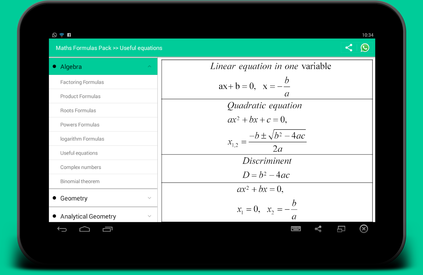 All Math formula Screenshot 4