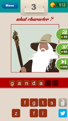 What Character? - screenshot