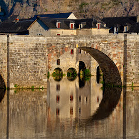 Medieval bridge by Sigitas Baltramaitis - Buildings & Architecture Bridges & Suspended Structures