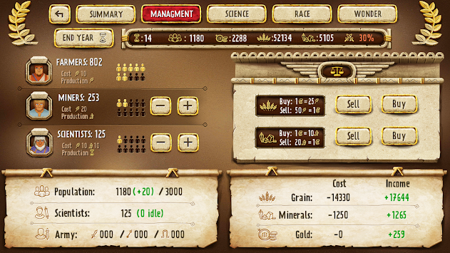 Empire Manager: Gold APK screenshot thumbnail 3