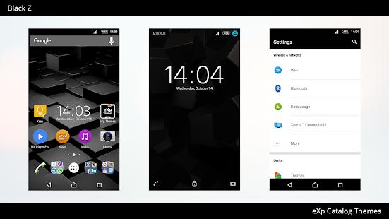 App Theme eXp - Black Z Light APK for Windows Phone
