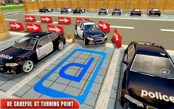 Police Car Parking Adventure 3D APK screenshot thumbnail 2