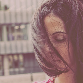 Feeling by Balazs Romsics - People Fashion ( girl hair )