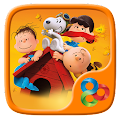 Free Download Snoopy GO Launcher Theme APK for Samsung