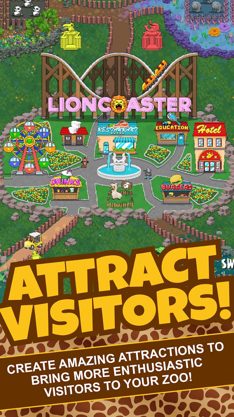 Idle Tap Zoo: Tap, Build & Upgrade a Custom Zoo Screenshot 0