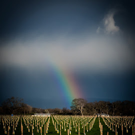 Rainbow 1520911 by Ken Wade - Landscapes Weather ( weather, storm, rainbow )