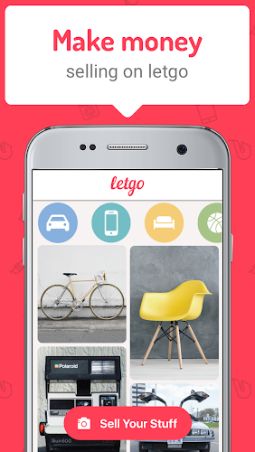 letgo: Buy & Sell Used Stuff Android App Screenshot