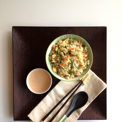 Hibachi-Style Fried Rice with Yum Yum Sauce