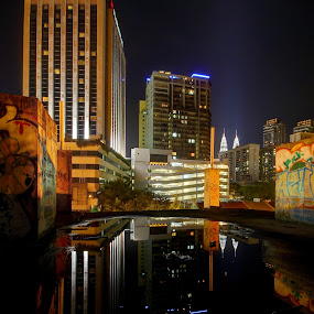 reflection ~ by Chef Faizal - City,  Street & Park  Vistas