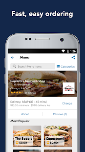 Eat24 Food Delivery & Takeout Screenshot