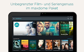Screenshot of maxdome