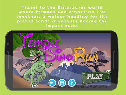 Temple Dino run - screenshot