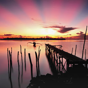 light from heaven by Mahdy Muchammad - Landscapes Waterscapes