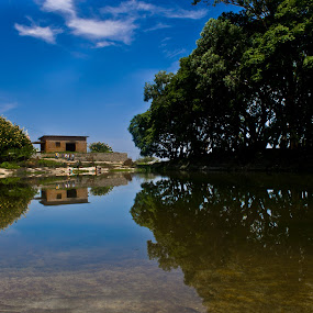 by Karthikeyan Chinnathamby - Nature Up Close Water ( reflection, reflections, people, places, architecture, building )