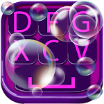 Soap Bubble Keyboard Design 2.1 Apk
