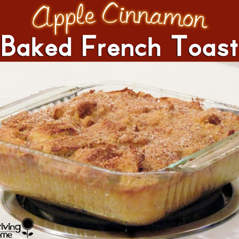 Apple Cinnamon Baked French Toast