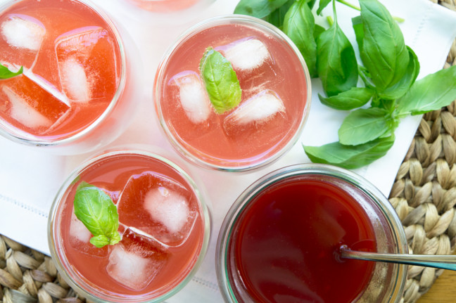 Strawberry Basil Soda Recipe   Yummly