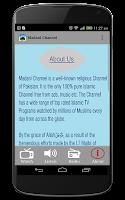 Screenshot of Madani Channel