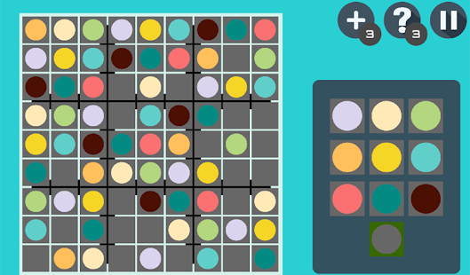 Color Sudoku Puzzle - screenshot