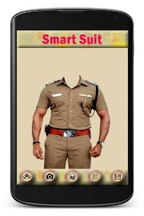 Police Suit Photo Editor - screenshot