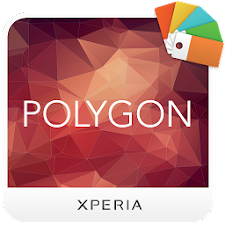 XPERIA™ Polygon Theme