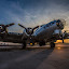 by John Spain - Transportation Airplanes ( b17, wwii, vintage, bomber )