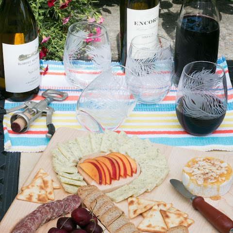 Summer Wine & Cheese Platter