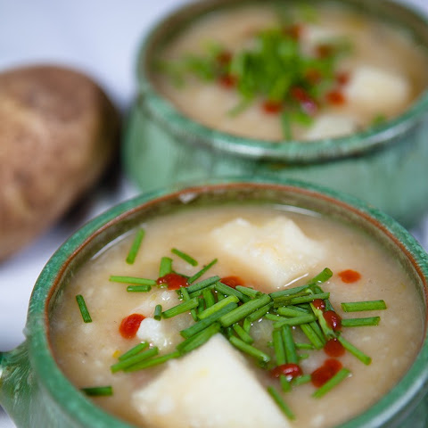 Vegan Potato and Leek Soup