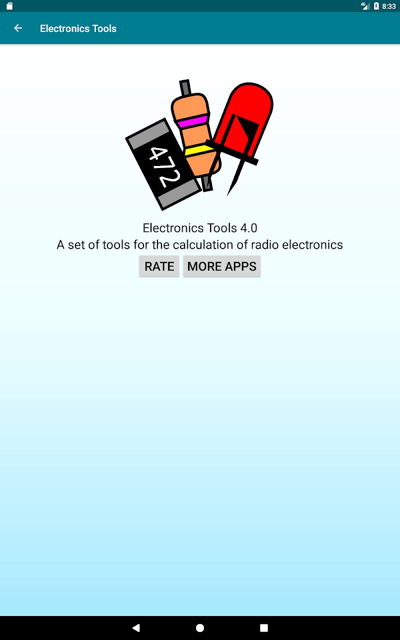 Radio components calculator Screenshot 8