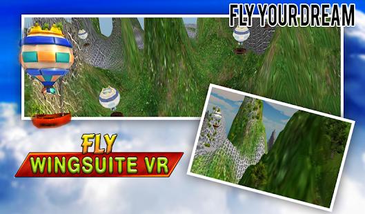 Fly Virtual Reality Wingsuit apk screenshot