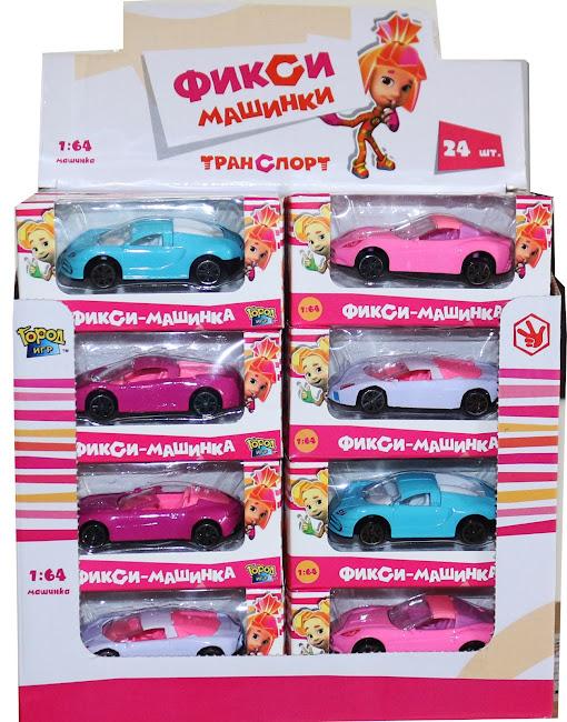 Машинка Фиксики, Симка, IQ, Boy, Car, Mini, масштаб 1:64, в ассорт