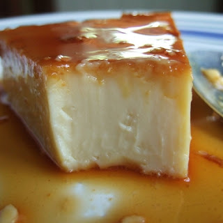 Leche Flan (using Whole Eggs)