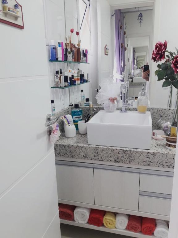 Apartamento residencial para locação, Perequê, Porto Belo.