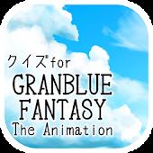 Download クイズforグランブルーファンタジー/アニメ問題 APK to PC