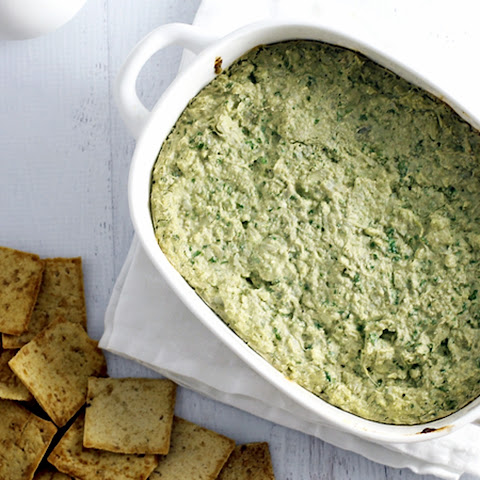 Hot and Bubbly Spinach and Artichoke Dip [Vegan]