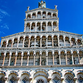 San Michele in Foro - Lucca by Bernarda Bizjak - Buildings & Architecture Places of Worship