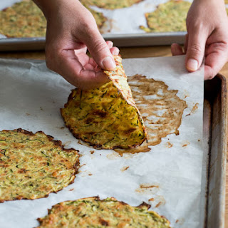 "Healthy Zucchini Soft ""Taco"" Tortilla Shells"