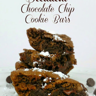 Decadent Chocolate Chip Cookie Bars
