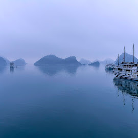 by Mac Evanz - Transportation Boats ( hanoi halong bay )